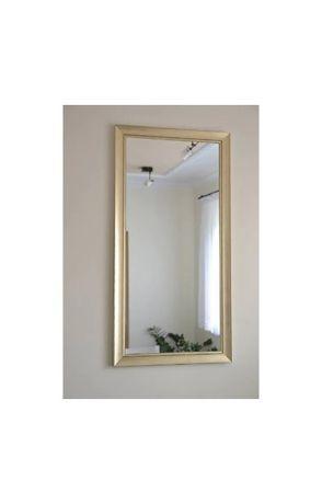 Piękne lustro 4201 duże złote 80x180cm