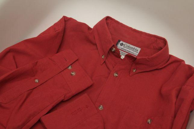 Columbia GRT рр XL-XXL рубашка из вискозы и полиестера