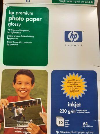 Papel fotográfico e etiquetas