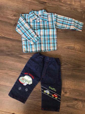 Костюм дитячий (сорочка, шорти) на 2-3 роки