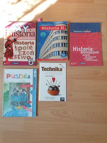 Podręczniki do historii plastyki 6 karty pracy technika zaj krawieckie