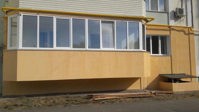 Утепление  фасадов от 380 грн за кв.м