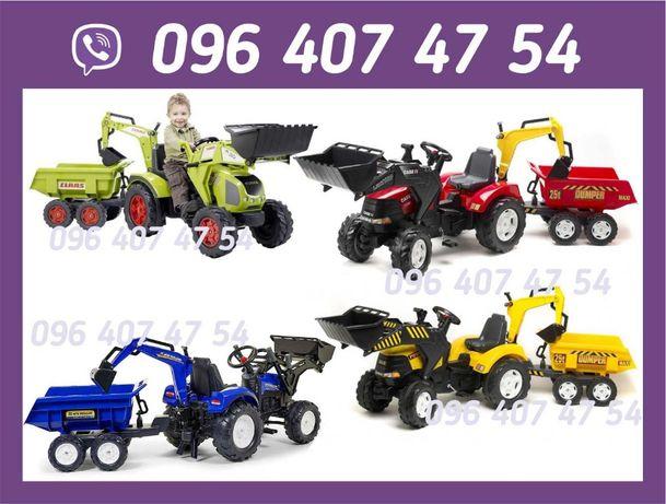 Трактор на педалях  Веломобиль  Falk  Rolly Toys  Smoby от2 до 10 лет.