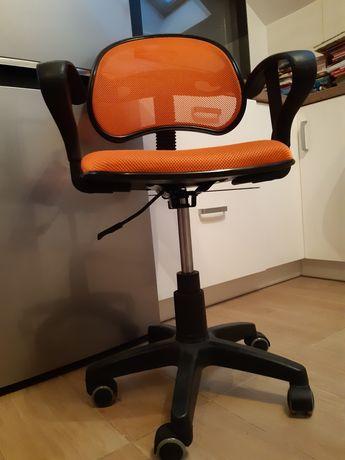 Krzesło obrotowe dla dziecka 2szt zielone rezerwacja