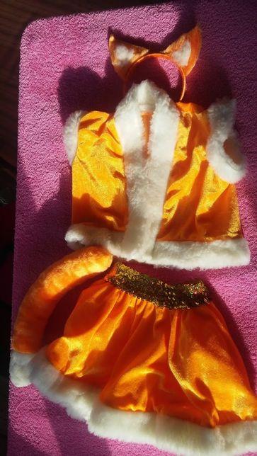 Белочка костюм лисичка лиса белка утренник