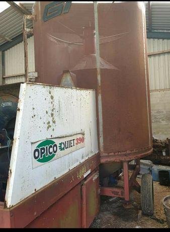Suszarnia do zboża i kukurydzy Opico GT 390 9 ton 380 gaz LPG pedrotti