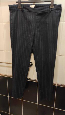 Укороченные женские хлопковые штаны брюки H&M, р.50-52