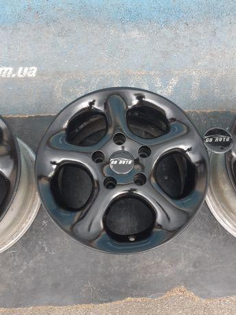 Goauto комплект дисков Alessio 5/120 r15 et35 7j dia72.6 в идеальном с