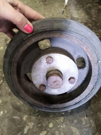 Колесо для тачки с осью тяжелое