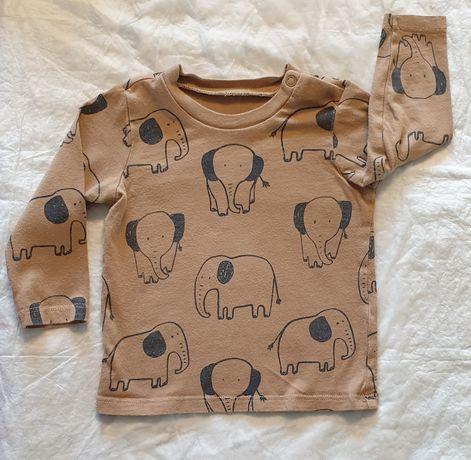Bluzeczka h&m roz. 74