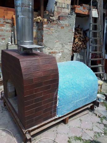 Печка на дровах для выпечки