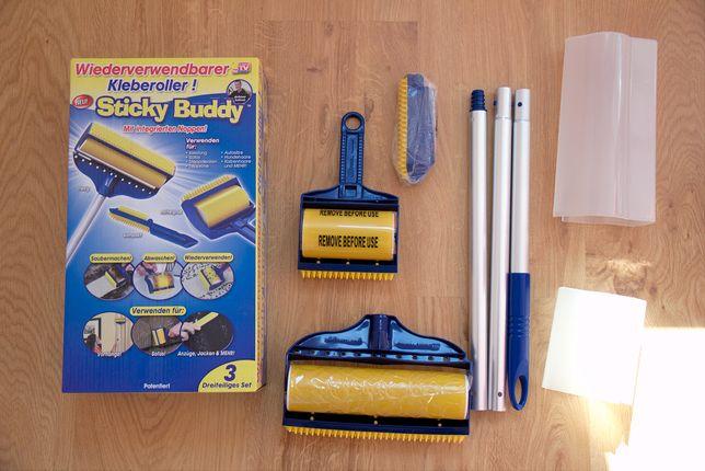 wałki do czyszczenia ubrań, dywanów i innych powierzchni Sticky Buddy