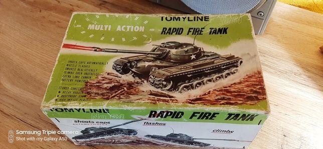 Винтажная игрушка /Tomy Line #64 Rapid Fire Tank