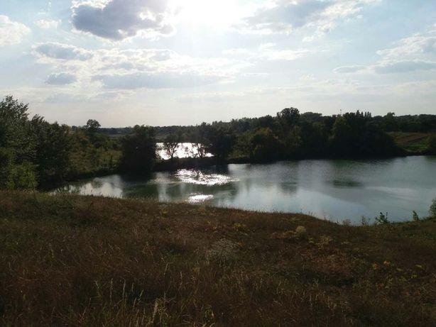 Продам участок земли Лосятин на берегу озера