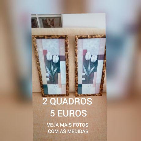 2 QUADROS POR 5 EUROS (os dois)= em BEJA
