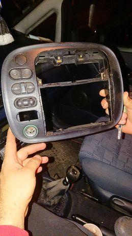 VW SHARAN 1.9 ramka radio szyby