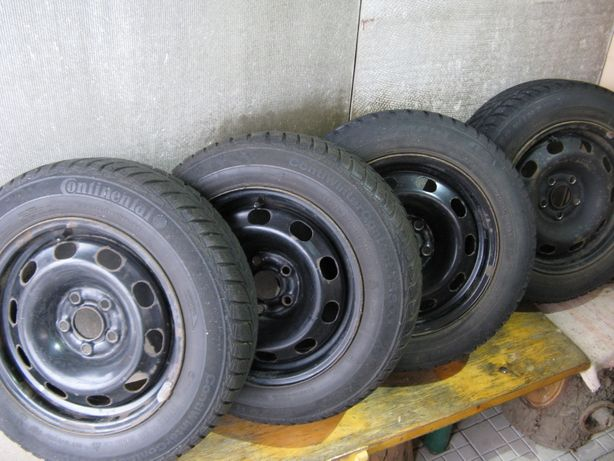 зимова гума з дисками 165 70 14