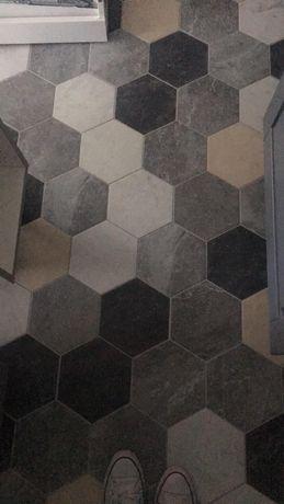 Hexagony w super cenie, różne kolory