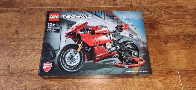 LEGO Technic 42107 Ducati Panigale V4 R NOWY