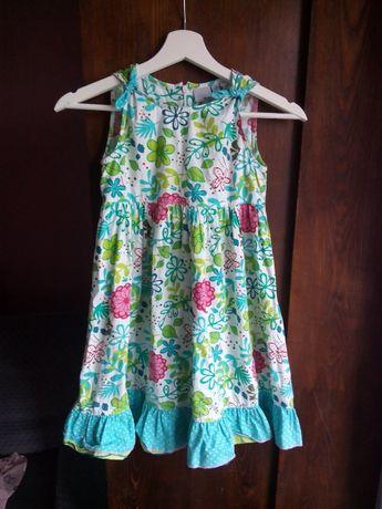 sukienkaw kwiaty 128