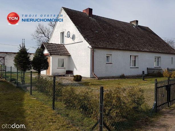 Połowa domu w miejscowości Stepień.