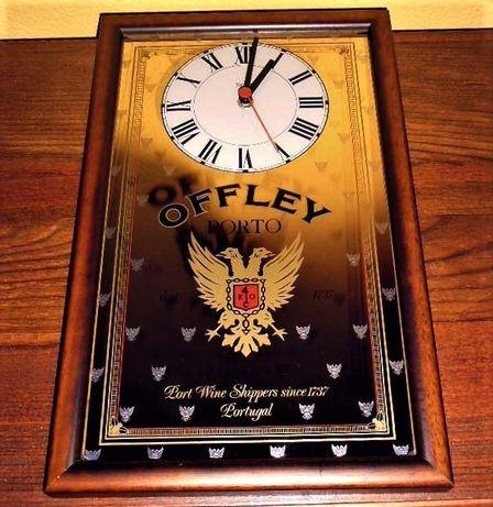 Quadro/Espelho Relógio Vintage Porto Offley