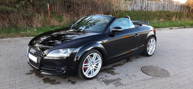 "Audi TT 2.0T Cabrio Kabriolet 8j BiXenon Grzane fotele BOSE Ładna 19"""