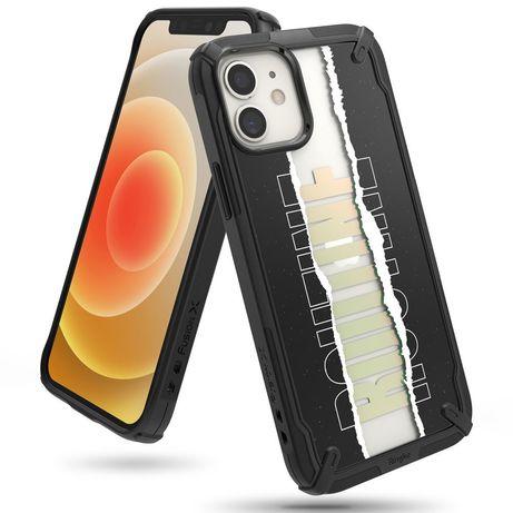 Capa Silicone Ringke Iphone 12 Mini Fusion X Routine - Preto