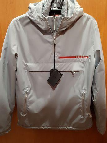 Анорак Prada новая зимняя куртка mocler пуховик Dsquared парка