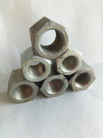 Гайка шестигранная высокая М18 DIN 6330 класса прочности 10.0