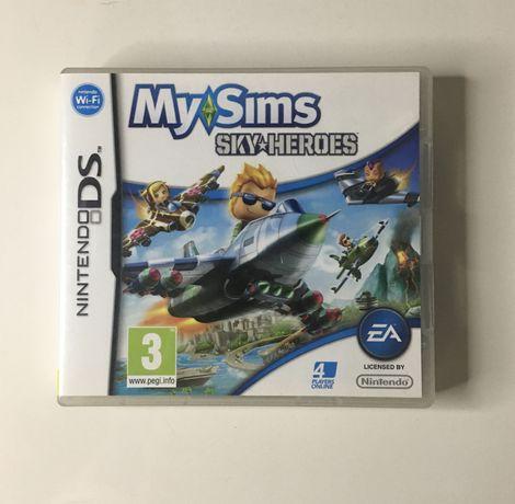 MySims Sky Heroes Nintendo DS completo CIB