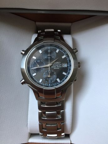 Relógio SEIKO 7T32-7G90 cronografo alarme - nunca usado
