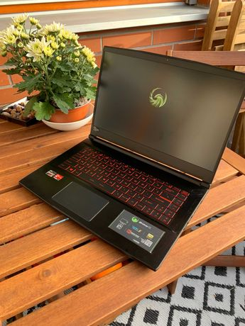 Laptop MSI Bravo 15 gamingowy/AMD/Ryzen/Radeon/WIN10 gwarancja
