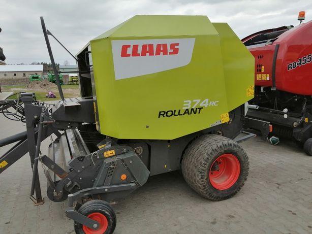 Prasa Claas rollant 374 RC 375, 2014R idealna