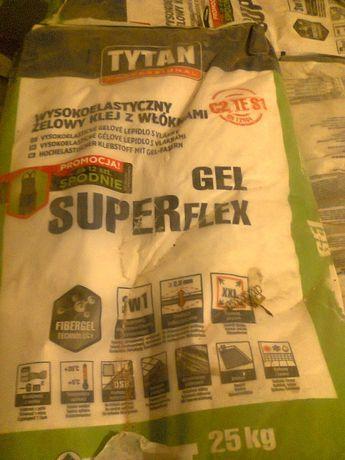 Klej do płytek Gel Superflex Tytan, super okazja