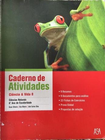Ciência e vida 8 - caderno de atividades