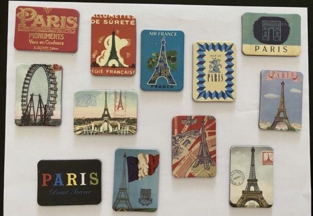 Imans frigorífico Nova Iorque   Londres   Paris