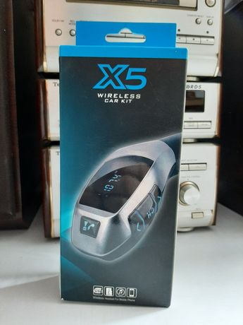 Nowy Transmiter samochodowy X5 super jakość
