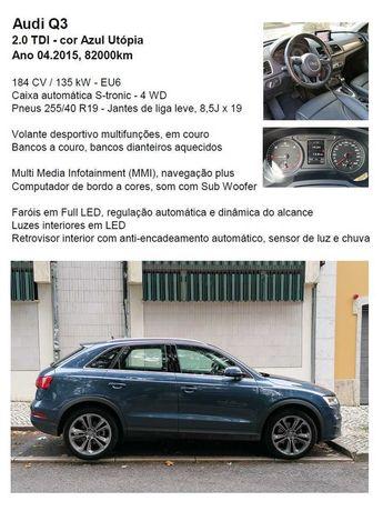 Viatura SUV Audi Q3