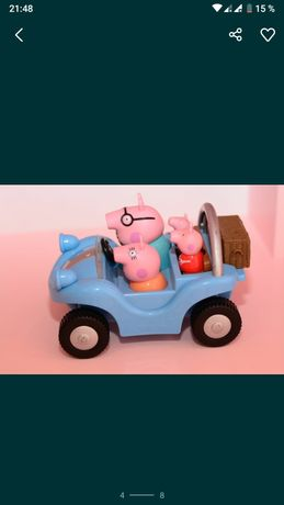 Іграшки Свинка Пеппа