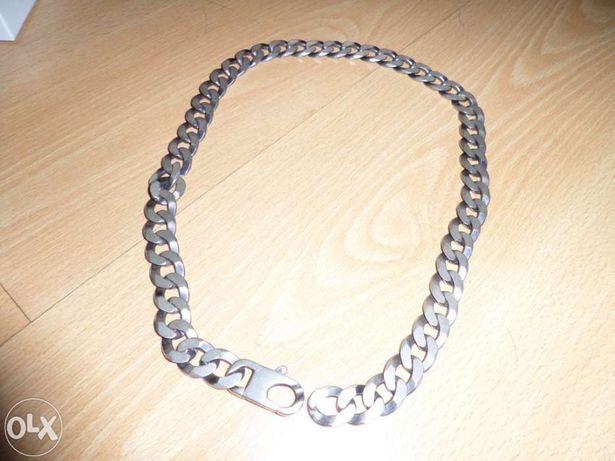 Corrente de prata verdadeira, pouco uso. bonita. 56cm 99gramas.