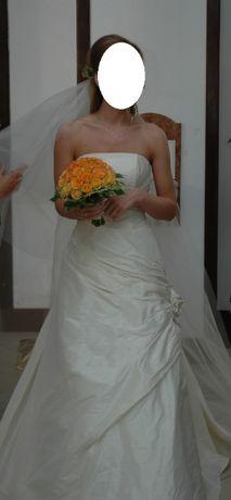 Suknia ślubna r.36 wzrost 168 Abiu