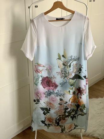 Нарядное белое платье Molegi S