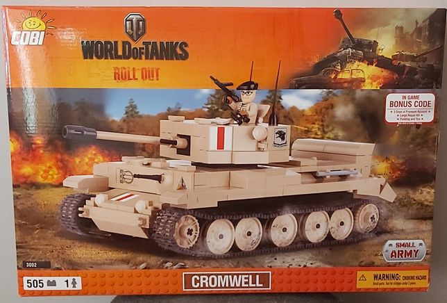 Cobi 3002 CROMWELL wot World of Tanks
