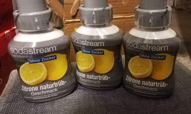 Syrop sodastream cytryna wersja bez cukru