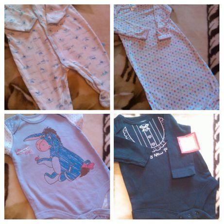 Пакет одежды Боди Бодик Человечик Одежда для новорожденных НОВЫЙ