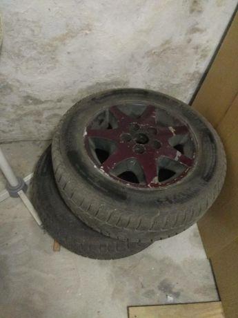 Продам диски с зимней резиной r15 Ford Scorpio
