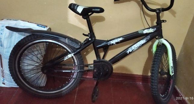 Трюковый велосипед 20 дюймов Crossride BMX Freestyle Hi-ten X: