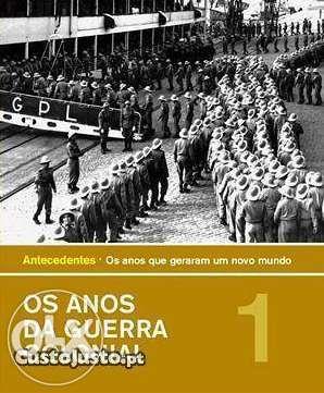 """Colecção completa """"Os Anos da Guerra Colonial"""" (16 volumes)"""