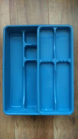 Wkład do szuflady dwurzędowy firmy Plast team